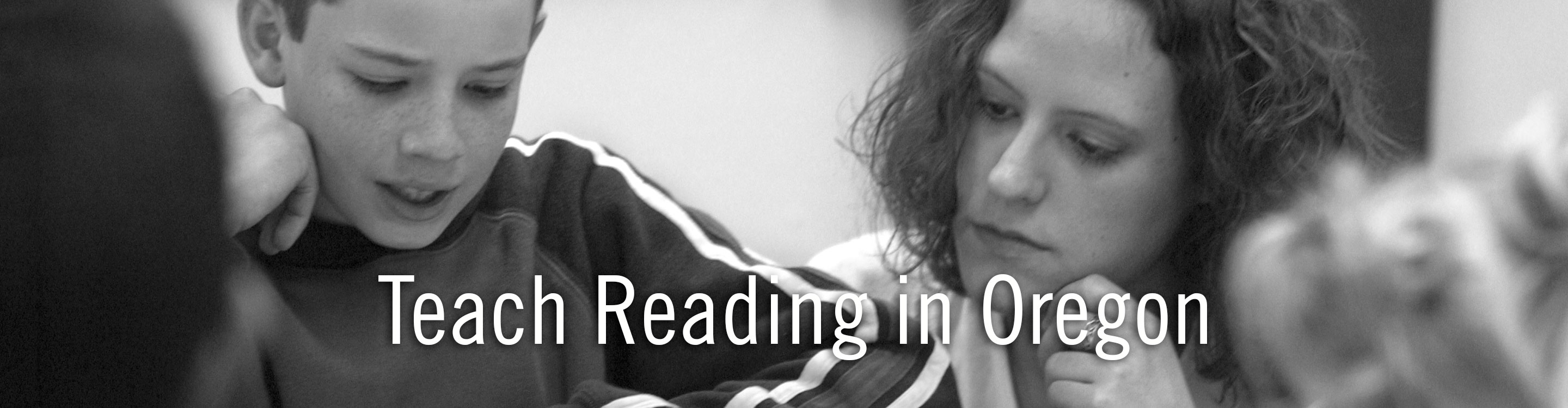 Teach Reading In Oregon Requirements To Become A Reading Teacher