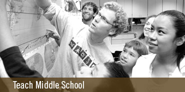 Become a Middle School Teacher